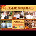 Couverture de l'édition 2004 du guide papier Le Malin Gourmand