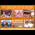 Couverture de l'édition 2005 du guide papier Le Malin Gourmand